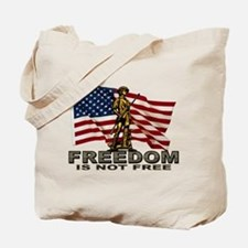 FREEDOM NOT FREE Tote Bag