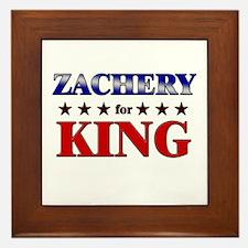 ZACHERY for king Framed Tile