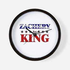 ZACHERY for king Wall Clock