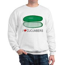 I Love Cucumber Sweatshirt