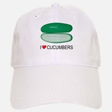 I Love Cucumber Baseball Baseball Cap