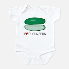 I Love Cucumber Infant Bodysuit