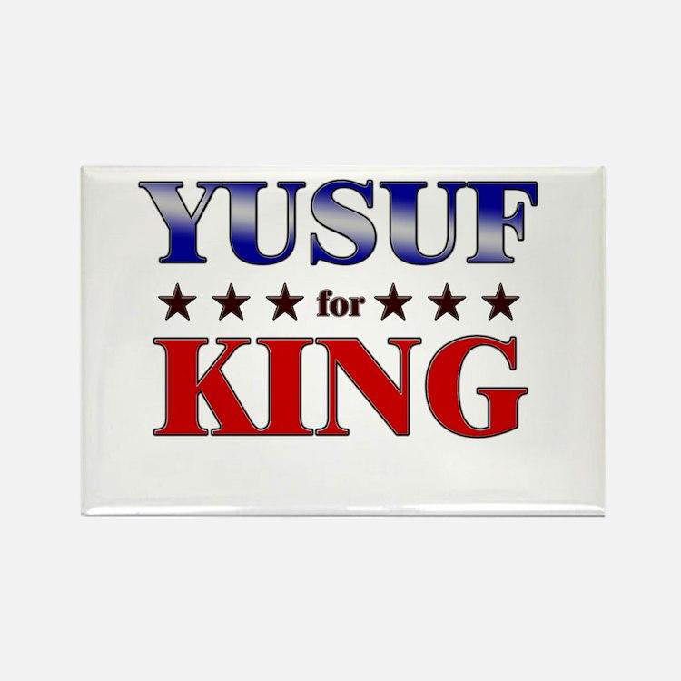 YUSUF for king Rectangle Magnet