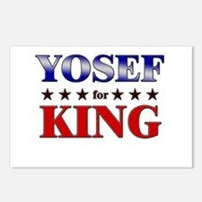 YOSEF for king Postcards (Package of 8)
