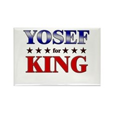 YOSEF for king Rectangle Magnet