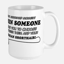 American Shorthair Design Mugs