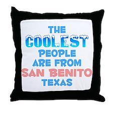 Coolest: San Benito, TX Throw Pillow