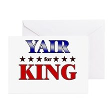 YAIR for king Greeting Cards (Pk of 10)