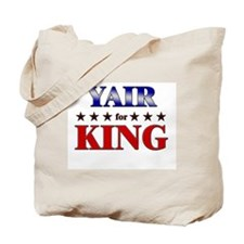 YAIR for king Tote Bag