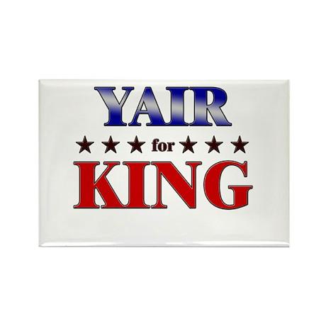 YAIR for king Rectangle Magnet