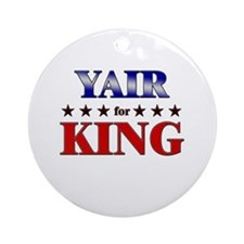 YAIR for king Ornament (Round)