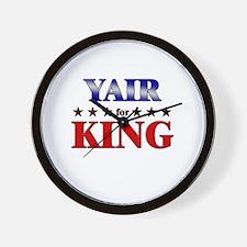 YAIR for king Wall Clock