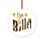 I Love Ballet Keepsake (Round)