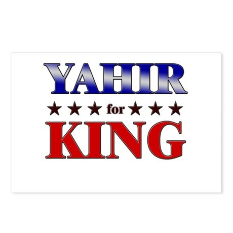 YAHIR for king Postcards (Package of 8)