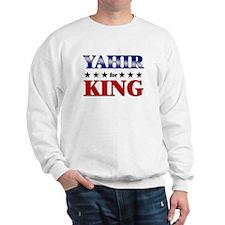 YAHIR for king Sweatshirt