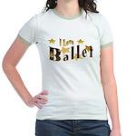 I Love Ballet Jr. Ringer T-Shirt