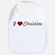 I love Christina Bib