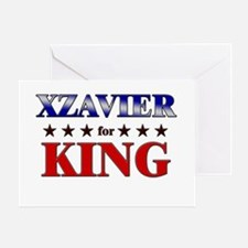 XZAVIER for king Greeting Card