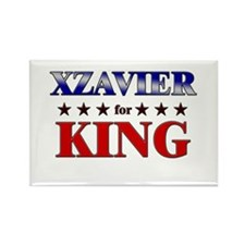 XZAVIER for king Rectangle Magnet