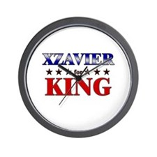 XZAVIER for king Wall Clock