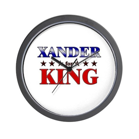 XANDER for king Wall Clock
