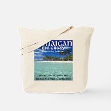 Rebel Coffee Jamaican Me Crazy Tote Bag