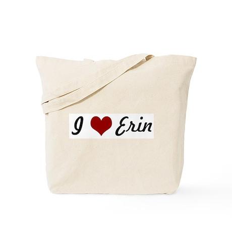I love Erin Tote Bag