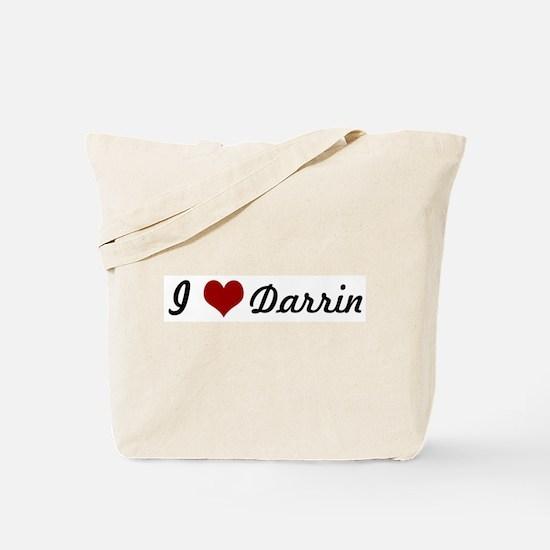 I love Darrin Tote Bag