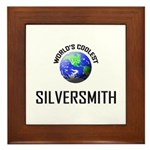 World's Coolest SILVERSMITH Framed Tile