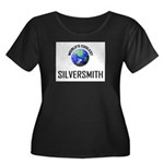 World's Coolest SILVERSMITH Women's Plus Size Scoo