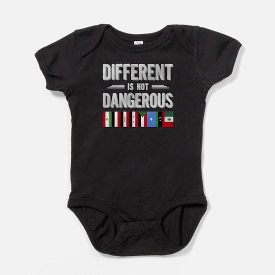 Different Is Not Dangerous T Shirt, Flag Body Suit
