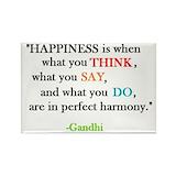 Gandhi quotes Magnets