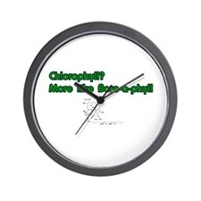 Chlorophyll Bore-a-phyll Wall Clock