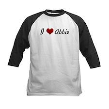 I love Abbie Tee