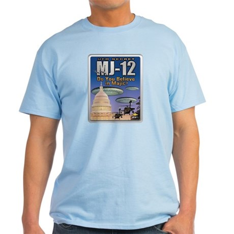 UFO Secret: MJ-12 Light T-Shirt