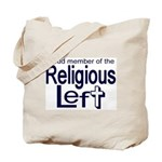 Tote Bag -- Proud Member of the Religious Left