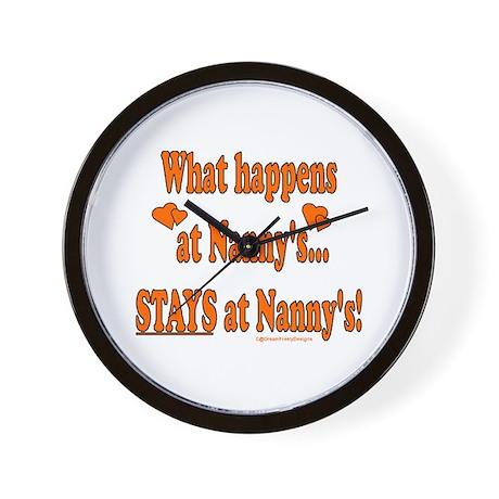 Nanny's House Wall Clock