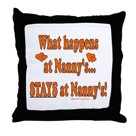 Nanny's House Throw Pillow