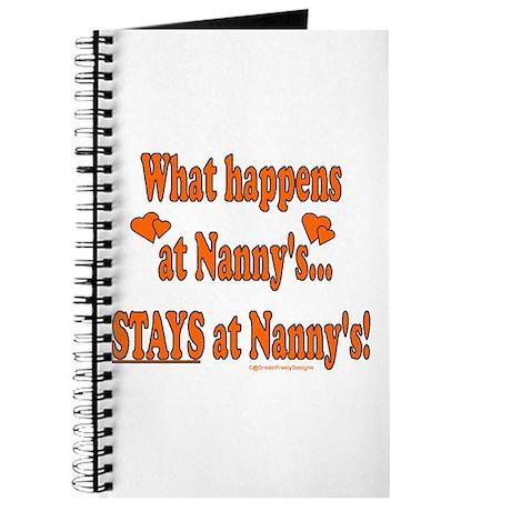 Nanny's House Journal