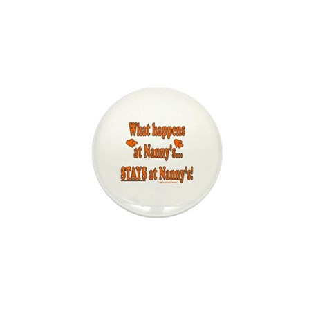 Nanny's House Mini Button