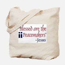 Tote Bag - Blessed are the Peacemakers