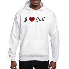 I love Cali Hoodie