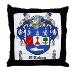 O'Cahan Family Crest Throw Pillow