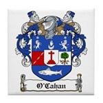O'Cahan Family Crest Tile Coaster