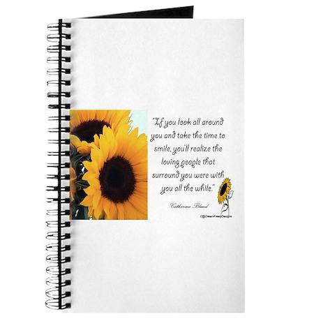 Sunflower Quote Journal