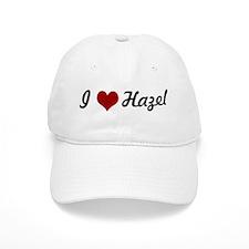 I love Hazel Baseball Baseball Cap