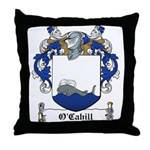 O'Cahill Family Crest Throw Pillow