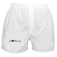 I love Harry Boxer Shorts