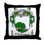 O'Callaghan Family Crest Throw Pillow