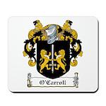 O'Carroll Family Crest Mousepad
